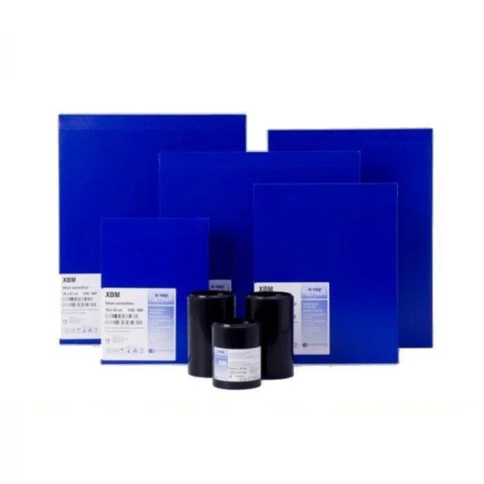 Рентгенпленка синечувствительная XBМ