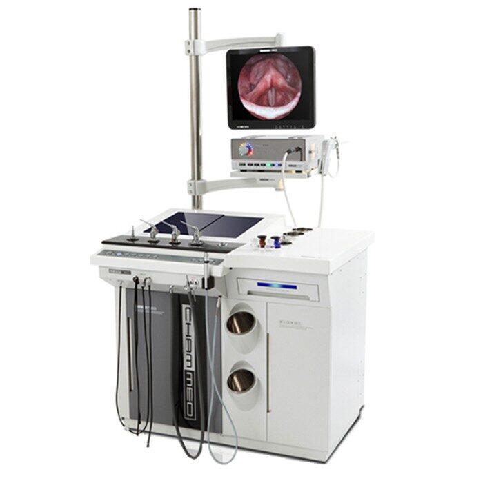 Установка оториноларингологическая Chammed CU-3000 с принадлежностями