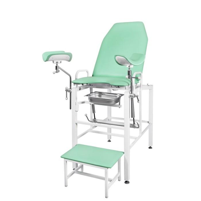 Кресло гинекологическое - урологическое «Clear», модель КГФВ-01гп (с передвижной ступенькой)