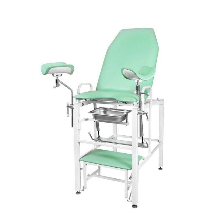 Кресло гинекологическое - урологическое «Clear», модель КГФВ-01гв (со встроенной ступенькой)