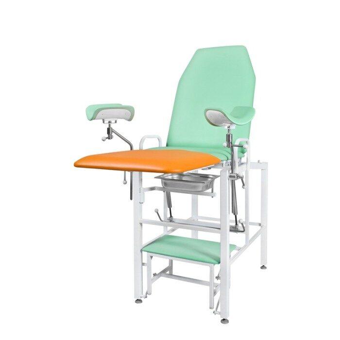 Кресло гинекологическое «Clear», модель КГФВ-02гв (со встроенной ступенькой)