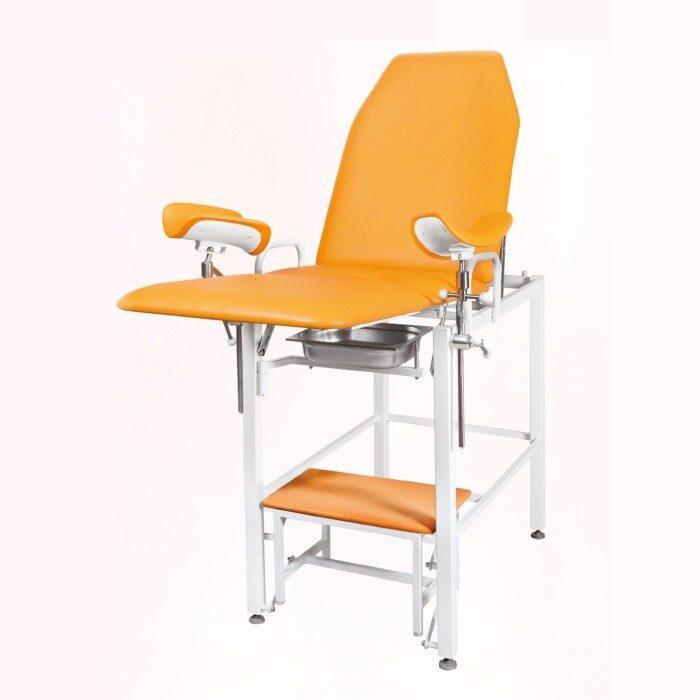 Кресло гинекологическое - урологическое «Clear» с фиксированной высотой, модель КГФВ-02в (со встроенной ступенькой)