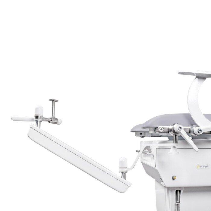 Кронштейн видеокольпоскопа на пантографическом плече (прикресельный) для КГЭМ