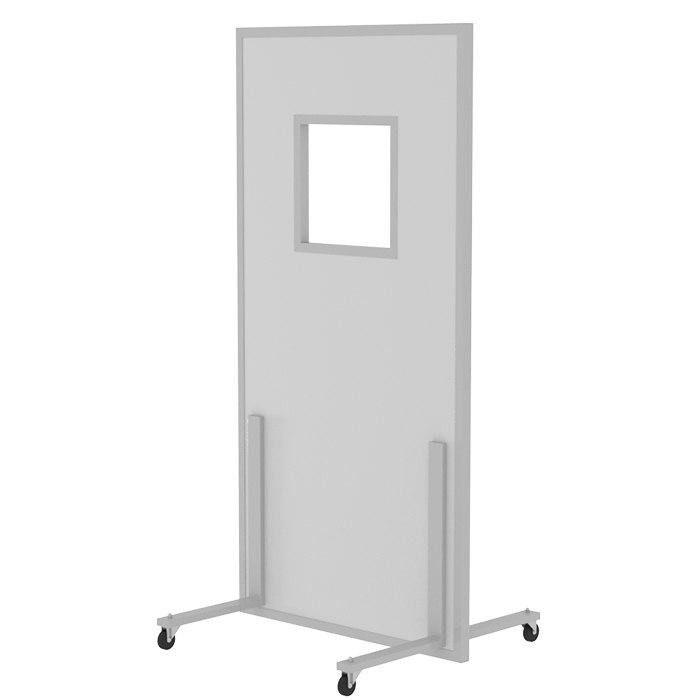 Ширма рентгенозащитная большая с окном РЕНЕКС ШРЗо