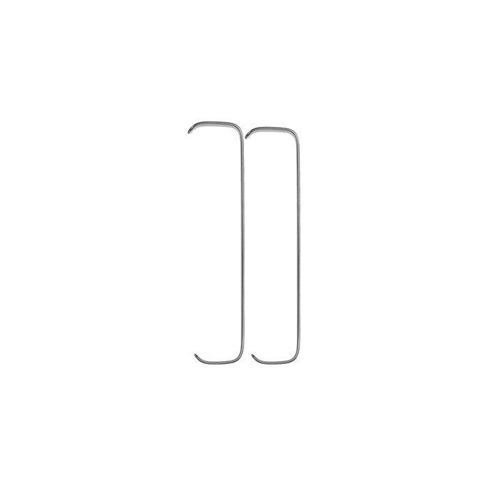 Крючок Farabeuf пластинчатый, парный, 150 мм