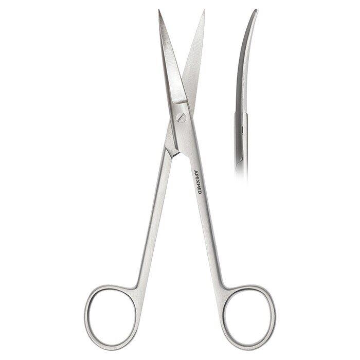 Ножницы хирургические Metzenbaum-Fine Super Cut, остроконечные, изогнутые