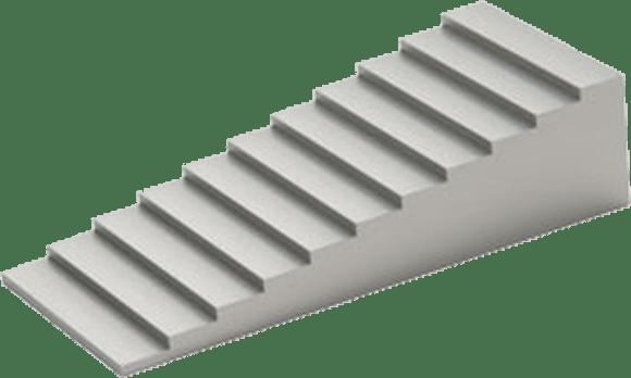 Тест-объект контрастной чувствительности ТКЧ-11 (лесенка из высокочистого алюминия)