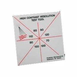 ТВР-16/60 Тест высококонтрастного разрешения High Contrast Resolution Test Tool