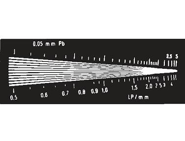 Тест-объект контроля пространственного разрешения ТПР-2