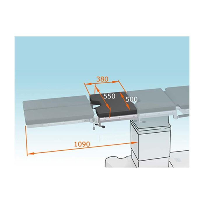 Комплект  КПП-28 для удлинения панели операционного стола