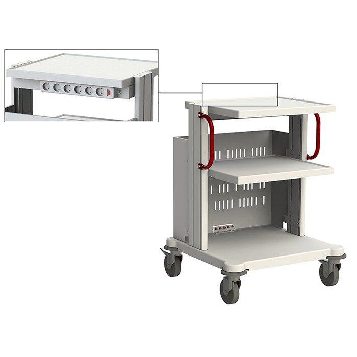 Стойка медицинская для аппаратуры СА-1
