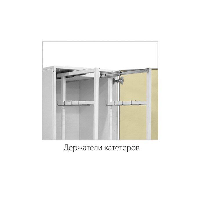 Шкаф медицинский высокий для хранения катетеров