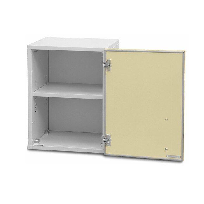 Шкаф медицинский для перевязочного материала одностворчатый (с полками)