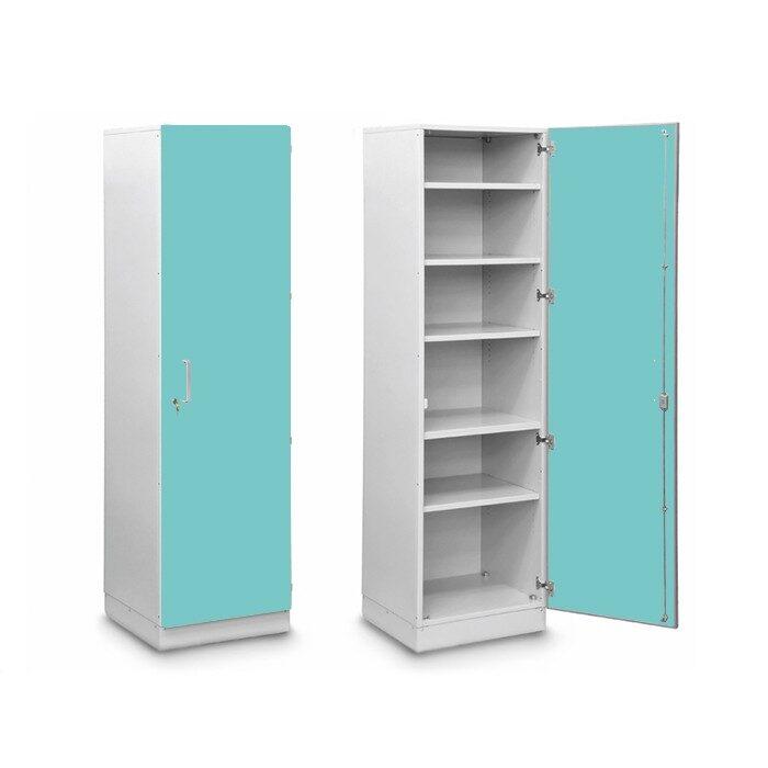 Шкаф медицинский высокий для хранения медикаментов (с полками)