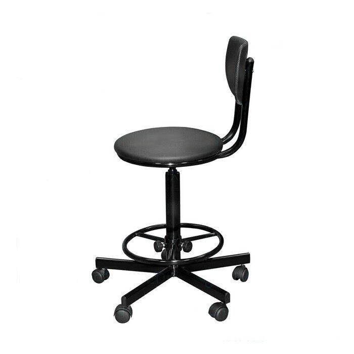 Кресло на винтовой опоре с регулируемой опорой для ног КР02/КР02-К
