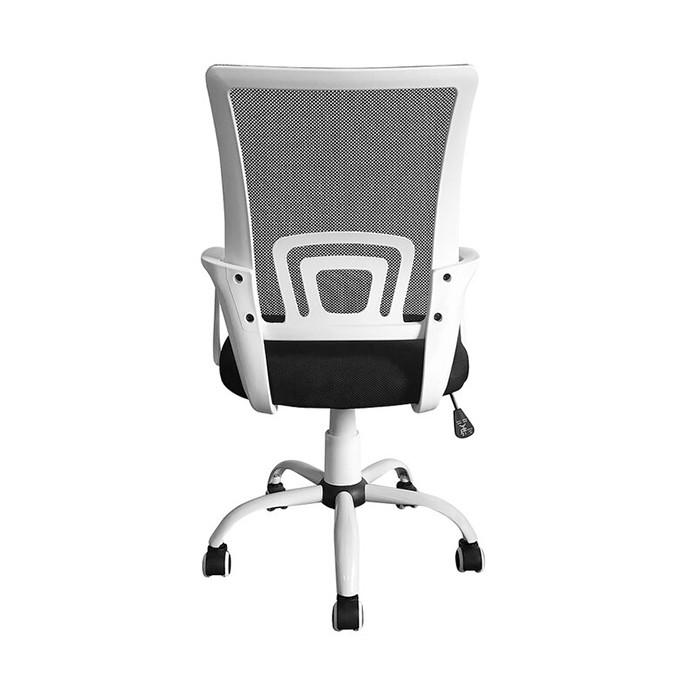 Кресло с сетчатой эргономичной спинкой КР08