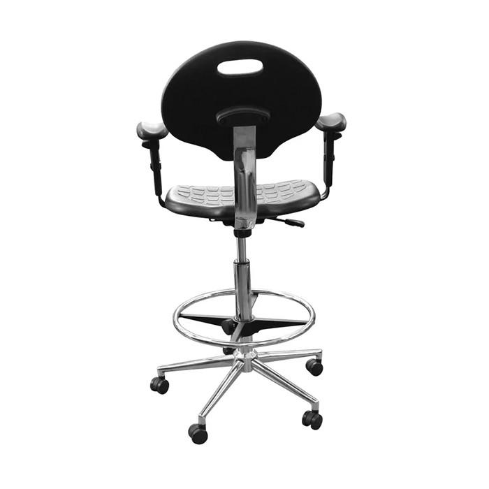 Кресло полиуретановое с подлокотниками КР12-В