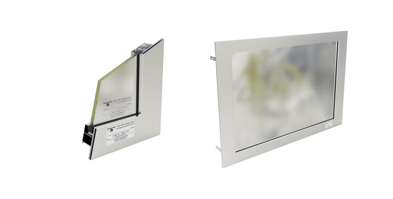 Радиационно и рентгенозащитные окна ОАРЗ, ОСРЗ